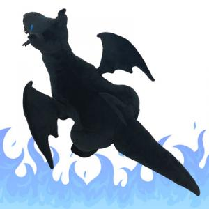 黒竜王アルゾール〜50cmぬいぐるみ