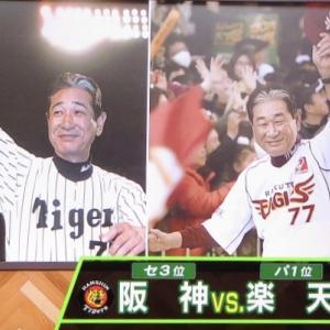 星野さんの故郷倉敷の阪神戦で勝利!(*^◯^*)!