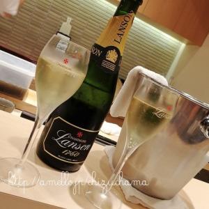 【横浜】きた西口すぐ!お寿司×シャンパン最高♥『すし松風』カウンターで大将の手技にうっとり✨