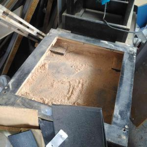 テーブルソー 刃の微調整