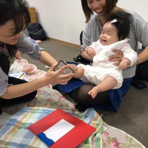 ハロウインの足形アート♡【川口・子育ちサークルたっちハート】