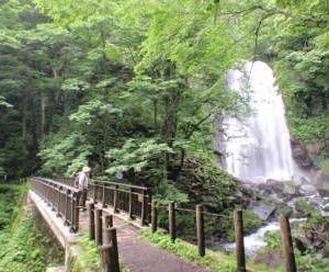 小野川不動滝で水しぶきを浴びる!!