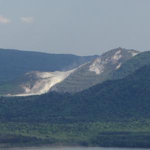 硫黄山はすごい・・・