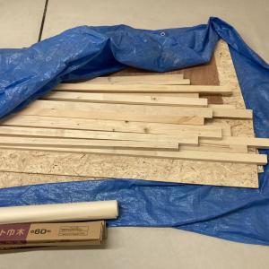 木材置き場を作る