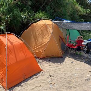 大自然のキャンプ