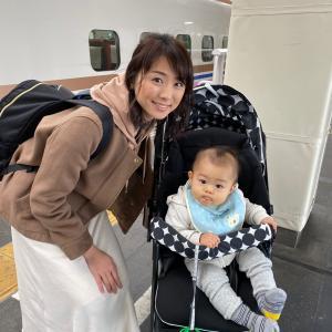 赤ちゃん連れ新潟から成田空港まで大移動★