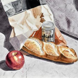練習課題(パンとビール缶)