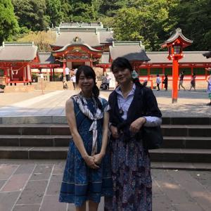 """""""原画展 """"ナナイロの華"""" と、九州への旅"""