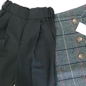 joint space戦利品!季節感たっぷりのヘリンボーンスカートと美脚テーパードパンツ