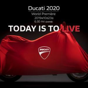 本日待望の2020年NEWモデルがついに...!!