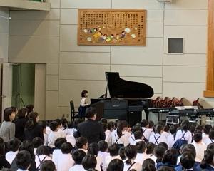 小学校音楽会シーズンですね
