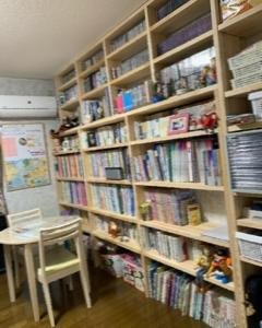 本棚、完成です!