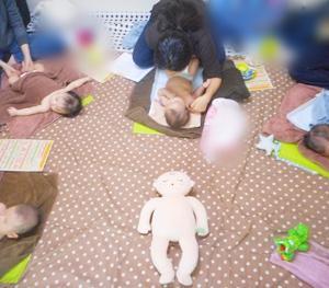 ◆赤ちゃんにはどんな運動がいいのかな~なんて思ったら(10/18ベビマ②)