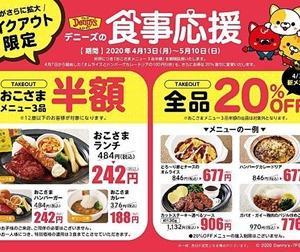 ◆続編 お得なテイクアウト情報(飲食チェーン店)
