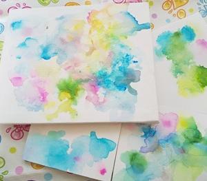 ◆夏休み楽しもう!風で描くアートワークショップ