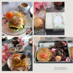 Rena* sweets1月『チョコ缶レッスン&ハンバーガー』
