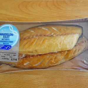 ドイツのスーパーで サバ 切り身の燻製を見つけました<手抜きの一品>