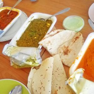 最近の大ヒット☆宅配インド料理が美味しかった! in ドイツ