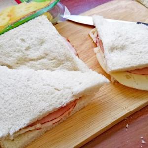 息子の作った昼食・・・夏休み中のドイツにて