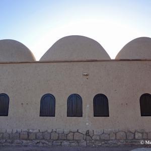 宇宙との交信・・・砂漠の中の ヌビア建築 in エジプト
