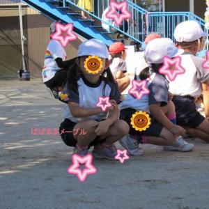 幼稚園最後の運動会