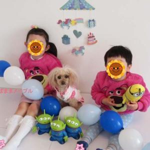 息子4歳のお誕生日会☆