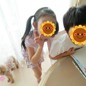夏休み⑤かわいい3人
