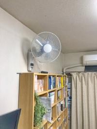 壁掛け扇風機パナソニック とシンワ測定下地センサーSuperスーパー78576の優雅な時間