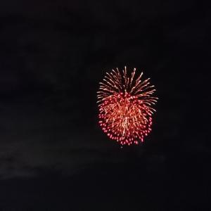 今年最初で最後の花火