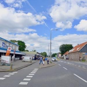 脱アムス⑨ 国境前にあるオランダのお店