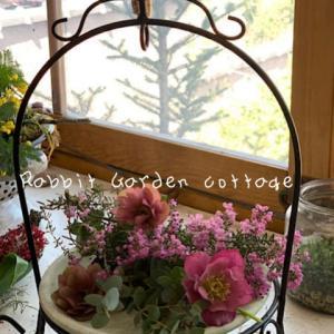 Rabbit Garden cottageレッスン +京終にてレッスン