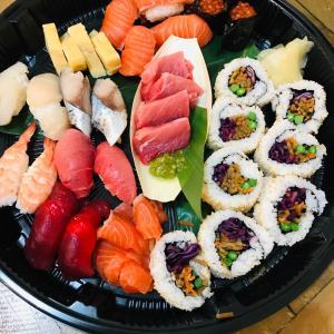 美味しいお寿司で引っ越し祝い
