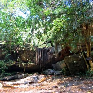 【カンボジア2020_6】川に沈む寺院と、アンコール随一の彫刻寺院