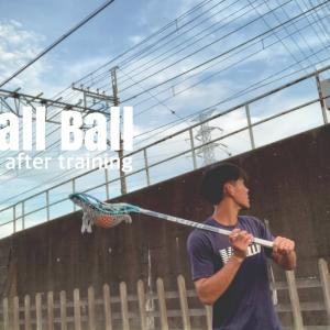 Wall  Ball after training