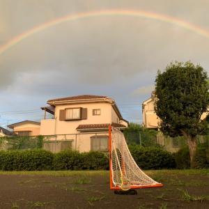 虹とラクロスと私