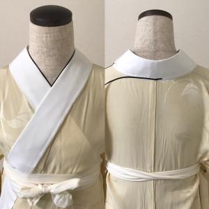 長じゅばんの寸法:衿合わせと衣紋の関係について