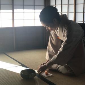 茶道から学ぶ…続けています。