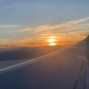2年前までは、1年に10回以上乗っていた飛行機…