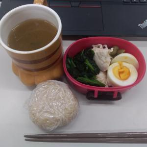 ダイエットモニター57日目の朝食と昼食!