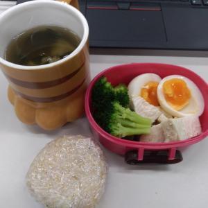 ダイエットモニター50日目の朝食と昼食!