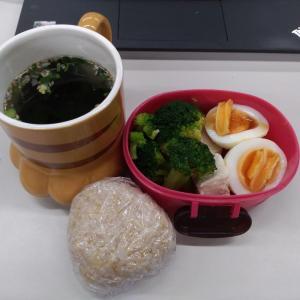 ダイエットモニター52日目の朝食と昼食!