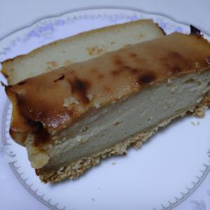 豆乳チーズケーキを焼いて