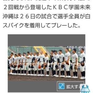 """""""白スパイク""""「沖縄タイムス」掲載されました!"""