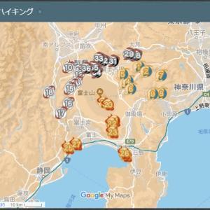 ヤマップ! 富嶽三十六景 ハイキング