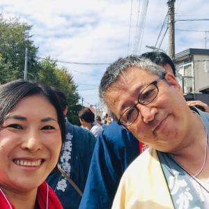 晴れやかな秋晴れのもと【久が原西部八幡神社例大祭】地域の絆を1つに!おめでとうございます!