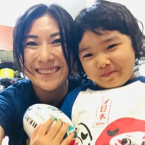 【ラグビーW杯日本開幕勝利❗️おめでとうございます!】親子で応援!今夜はカツで勝つ!