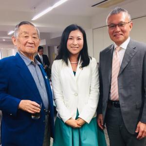 【蒲田三丁目町会・桜寿会合同新年会】会長のかっぽれで笑顔に包まれた和やかに開催されました!