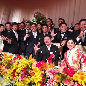 同期の結婚式【慎吾ちゃん❤️絵理子さんご結婚おめでとうございます】