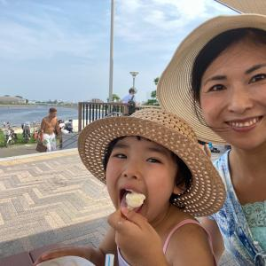 【夏休みは大田区ふるさとの浜辺公園へ!今年初めての海♪大田区の大好きな景色と夏の休日を満喫】