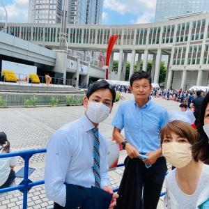 【聖火リレーセレモニー】東京2020大会によせて五輪憲章に基づく人権尊重のメッセージを❗️